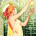 Vintage Absinthe Robette Poster by Joy McKenzie