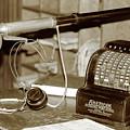 Vintage Adding Machine by Brian Pflanz