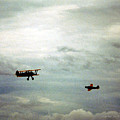 Vintage Airplanes by Charles McKelroy