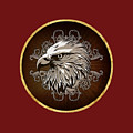 Vintage American Bald Eagle by Elaine Plesser
