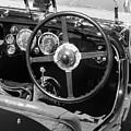 Vintage Aston Martin Dashboard by Neil Zimmerman