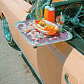 Vintage Auto And Window Tray by SR Green