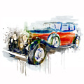 Vintage Automobile by Marian Voicu