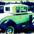 Vintage Automobile by Regina Arnold