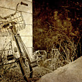 Vintage Bicycle In Winter. by Kelly Nelson