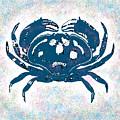 Vintage Blue Crab by Joy McKenzie