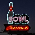 Vintage Bowling Neon Sign by WHBPhotography Wallace Breedlove