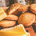 Vintage Butter Shortbread Biscuits by Jorgo Photography - Wall Art Gallery