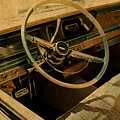 Vintage Cadillac Steering Wheel And Interior by Design Turnpike