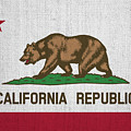 Vintage California Flag by Bill Cannon