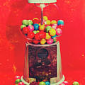 Vintage Candy Store Gum Ball Machine by Jorgo Photography - Wall Art Gallery