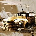 Vintage Car by Gull G