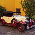 Vintage Car In Funchal, Madeira by Karol Kozlowski