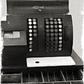 Vintage Cash Register by Patricia Montgomery
