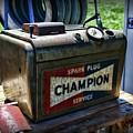 Vintage Champion Spark Plug Cleaner by Paul Ward