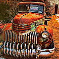 Vintage Chevrolet Tow Truck by Anna Louise