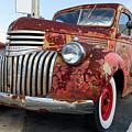 Vintage Chevrolet Truck by Les Palenik
