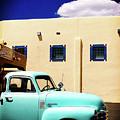 Vintage Chevrolet Truck by Toula Mavridou-Messer