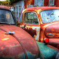 Vintage Chevy Trucks by Val Niles