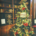 Vintage Christmas Tree by Eleanor Abramson