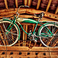 Vintage Cicycle by Pat Moore