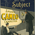 Vintage Cigarette Ad 1900 by Andrew Fare