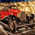 Vintage Classic Car Bugatti 1931 by Joy of Life Art Gallery