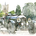 Vintage Classic Car No.10 by Joy of Life Art Gallery