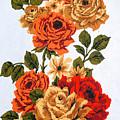 Vintage Climbing Roses by Brenda Kean