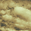Vintage Cloudy Sky. Old Day Background by Jorgo Photography - Wall Art Gallery