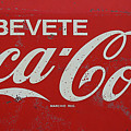 Vintage Coca Cola Sign by Andrew Fare