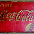 Vintage Coca-cola Sign by Mary Deal