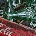 Vintage Coke Square Format by Paul Ward