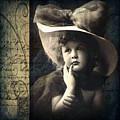 Vintage Collage 21 by Angelina Cornidez
