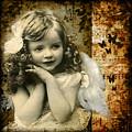 Vintage Collage 22 by Angelina Cornidez