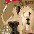 Vintage Corset Ad 1890 by Andrew Fare