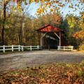 Vintage Covered Bridge by Dale Kincaid