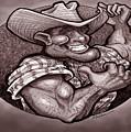 Vintage Cowboy by Kevin Middleton