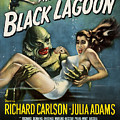 Vintage Creature From The Black Lagoon Poster by Joy McKenzie