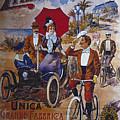 Vintage Cycle Poster Prinetti Stucchi Unica Grande Fabbrica Italiana Milano by R Muirhead Art