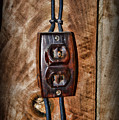 Vintage Electrical Outlet by Paul Ward