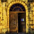 Vintage Entrance by Georgiana Romanovna