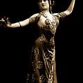 Vintage Exotic Dancer by R Muirhead Art