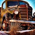 Vintage Farm Truck by DJ MacIsaac