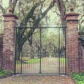 Vintage Fenwick Hall Gate by Dale Powell
