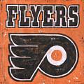 Vintage Flyers Sign by Debbie DeWitt