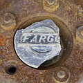 Vintage Fargo Wheel Art by Nina Silver