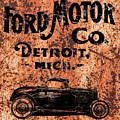 Vintage Ford Motor Company by Edward Fielding