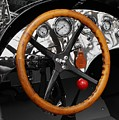 Vintage Ford Racer Dashboard by Neil Zimmerman