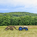 Vintage Ford Tractor Tilt Shift by Edward Fielding